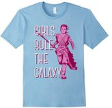 Star Wars Rey Episode 7 Girls Rule The Galaxy T-Shirt