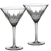 Waterford Lismore Diamond Martini Glasses - Set of 2
