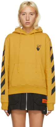 Off-White Yellow Agreement Slim Hoodie