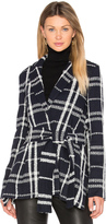 Derek Lam 10 Crosby Tie Belt Wrap Jacket