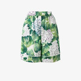 Dolce & Gabbana hydrangea print pyjama shorts