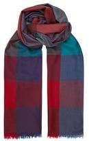 Paul Smith Accessories Check Lambswool Scarf