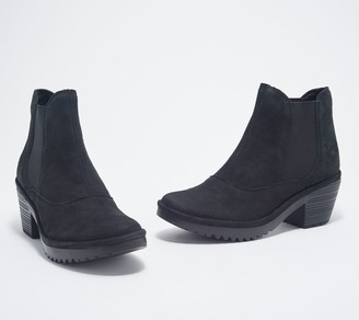 Fly London Leather Ankle Boots - Wote