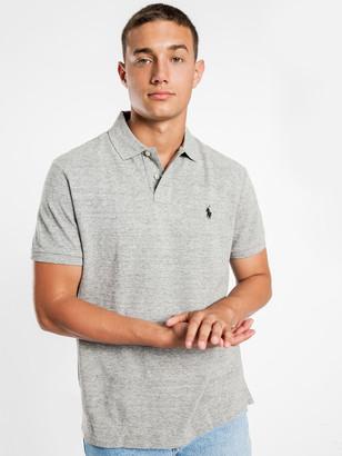 Polo Ralph Lauren Custom Slim Polo T-Shirt in Grey