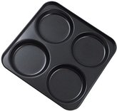 i-Bakwe 4-Cup Yorkshire Pudding Tray, Black