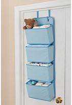 Delta 4-Pocket Over the Door Organizer - Blue