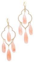 Kate Spade Lantern Gems Large Chandelier Earrings