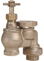 Champion Arrowhead Brass Prod. IASVU100 Fairway Anti-Syphon Valve With Union