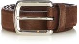 Brunello Cucinelli Suede leather belt