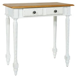 """Rosalind Wheeler Carling 30"""" Solid Wood Console Table"""