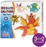 Sequin Creations - Happy Dragons