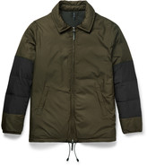 Helbers - Panelled Shell Down Jacket