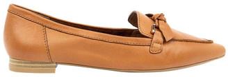 Diana Ferrari Campari Tan Flat Shoe