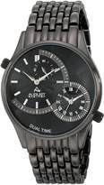 August Steiner Men's AS8141BK Analog Display Swiss Quartz Watch
