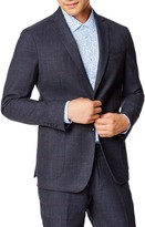 Good Man Brand Slim Fit Windowpane Stretch Cotton Sport Coat