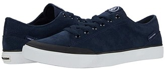 Volcom Leeds Suede (Navy) Men's Shoes