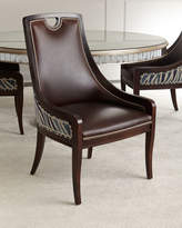 Massoud Markham Leather Dining Chair