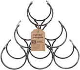 True Fabrications The Wine Shrine Bottle Rack - black