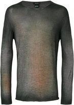Avant Toi fade effect pullover