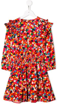 Stella McCartney geometric print dress