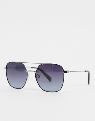 Polaroid square lens sunglasses