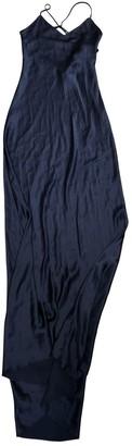 Olivia von Halle Blue Silk Dresses