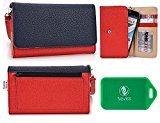 Amoi A955W Wristlet wallet phone holder with Card slots and Coin Pocket