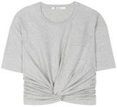 Alexander Wang Front Twist Cotton Jersey
