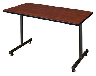 """Training Table Symple Stuff Size: 29"""" H x 42"""" L x 24"""" W, Tabletop Finish: Cherry"""