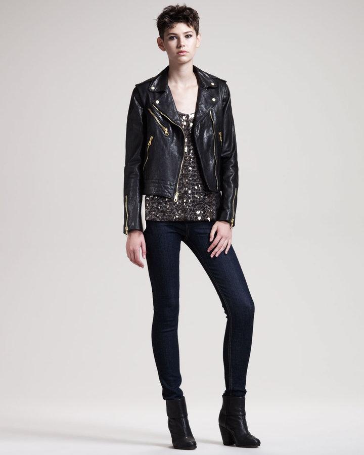 Rag and Bone Rag & Bone Bowery Leather Jacket