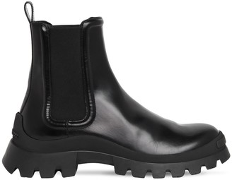 DSQUARED2 55mm Brushed Leather Ankle Boots