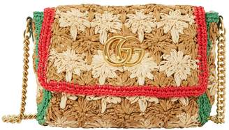 Gucci Raffia shoulder bag