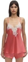Luna Di Seta Lace & Silk Camisole