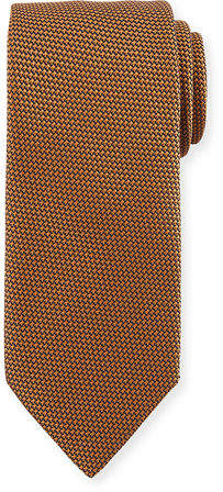 Charvet Large Grenadine Silk Tie