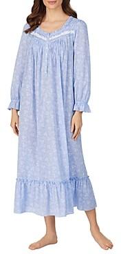 Eileen West Floral Print Ballet Nightgown