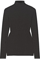 Michael Kors Ribbed-knit Turtleneck Sweater - Black