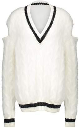 Balmain Wool and angora jumper