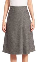 SET A-Line Wrap Middie Skirt