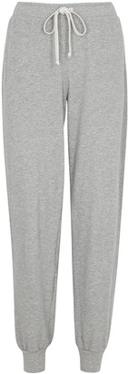 Clu Grey melange cotton sweatpants