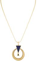 House Of Harlow Door Knocker Pendant Necklace