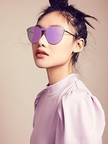 Free People Mirror Mirror Shield Sunnies