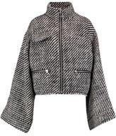 Marques Almeida Marques' Almeida Bouclé Wool-Blend Jacket