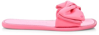 Kate Spade Bikini Bow Flat Neoprene Sandals