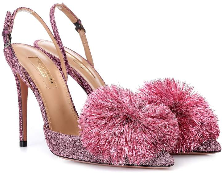 e2b8a1f48d Aquazzura Powder Puff Shoes - ShopStyle