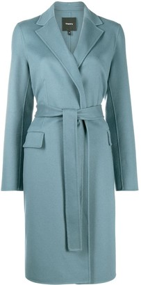 Theory Belted Wrap Coat