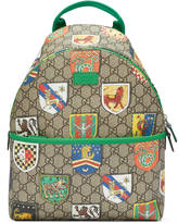 Gucci Children's GG crests backpack