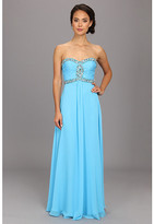 Faviana Strapless Sweetheart Corset Back Dress 7366
