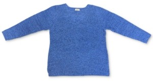 Style&Co. Style & Co Plus Size V-Neck Cotton Sweater, Created For Macy's