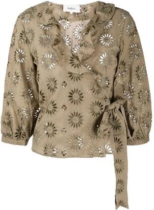 BA&SH Bardo embroidered blouse