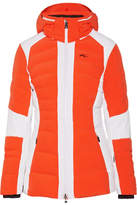 Kjus - Duana Two-tone Quilted Shell Down Jacket - Orange